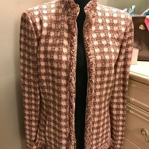 SOLD St. John heavy knit tweed blazer